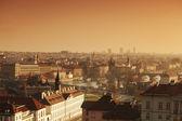 Panorama de praga república checa — Foto Stock