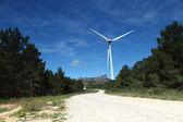 Parque eólico de turbinas eólicas en españa — Foto de Stock