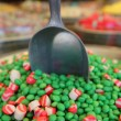 Details of candy at the candy shop - Stock Photo