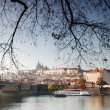 Stock Photo: Panorama of Prague Czech Republic