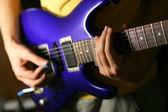 Solo de guitarra — Fotografia Stock
