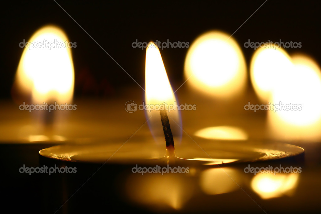 Sacred candles — Stock Photo #11579389