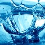 Blue water splash — Stock Photo #11580473