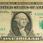 One dollar — Stock Photo #11599202