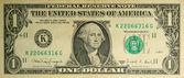One dollar — Stock Photo
