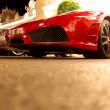 Super cars in monte carlo - Stock Photo