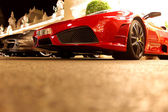 Super cars in monte carlo — Stock Photo