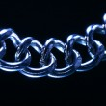 Steel chain — Stock Photo