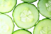 Cucumber slice — Stock Photo