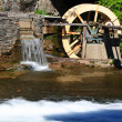 Постер, плакат: Water Wheel detail from live museum