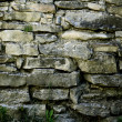Royalty-Free Stock Photo: Wall built from stone plates in 1875