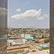 Aerial view of Addis Ababa — Stock Photo