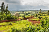 Ethiopian rural landscape — Stock Photo