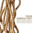 Rope on isolated white background — Stock Photo