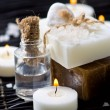 Spa still life with handmade soap — Stock Photo #11151208