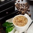 Stock Photo: Cappuccino