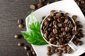 Coffee background with place for text — Stock Photo