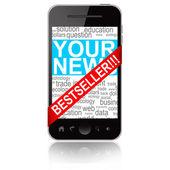 Bestseller mobile phone isolated on white background — Stock Photo