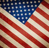 Grunge american flag — Stock Photo