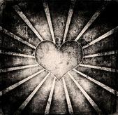 Grunge love poster — Stock Photo