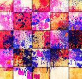 Bright grunge geometric background — Стоковое фото