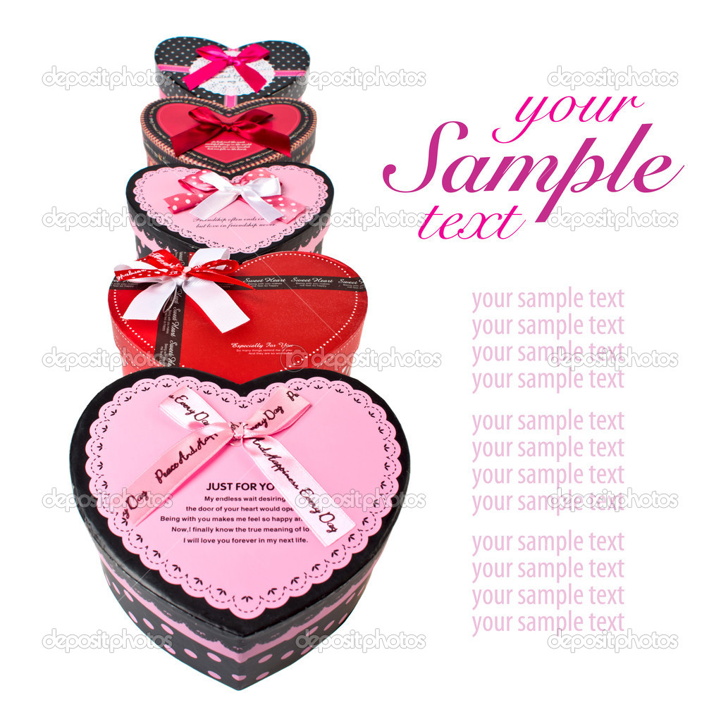 Gift boxes on isolated white background — Stock Photo #11151273
