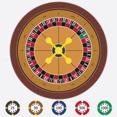 Roulette. — Stock Vector