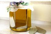 Zelfgemaakte olijfolie — Stockfoto