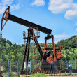 Stock Photo: Oil well pump