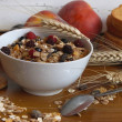 Muesli breakfast rich in fiber — Stock Photo #11945836