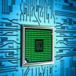 Abstract processor — Stock Photo