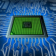 Stock Photo: Microprocessor