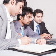 Three businessmen in meeting — Stock Photo #11118073