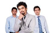 команда успешных бизнесменов — Стоковое фото