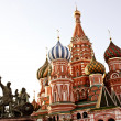 Royalty-Free Stock Photo: St. basil cathedral in Moscow