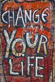 Change your life — Stock Photo
