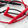 Royalty-Free Stock Photo: Pointed electrical test probes