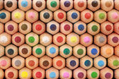 Crayons in a stack — Stock Photo