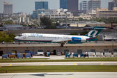 AirTran Boeing 717 — Stock Photo