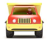 Toy truck — Stock Photo