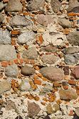 Background of retro stone masonry wall closeup — Stock Photo