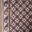 Stock Photo: Old decorative tiles background.