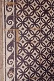 Old decorative tiles background. — Stock Photo