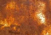 錆びたブリキの背景. — ストック写真