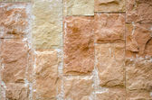 Background of decorative ceramic brick wall — Stock Photo