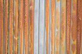 Background of rusty retro wall metal fence wall — ストック写真