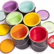 Stock Photo: Paint CDiagonal