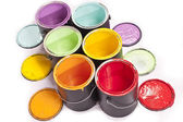 Paint Can Diagonal — Stock Photo