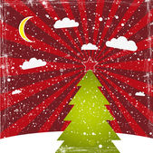 Árvore de Natal — Vetor de Stock
