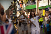 Olympic Torch 2012 — Stock Photo